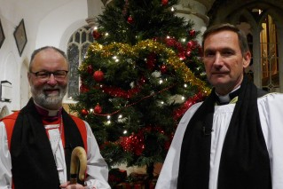 The Rt Revd Dr Alan Wilson, Bishop of Buckingham and Andrew Parry, our Associate Minister